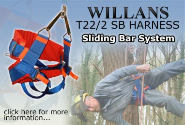Willans T22/2 SB Harness Sliding Bar System